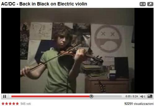 AC DC BY ELECTRIC VIOLIN
